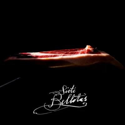 """7 Bellotas® """"Gran Reserva"""" Schouderham van eikel-varkens (BELLOTA) 6 Kg."""