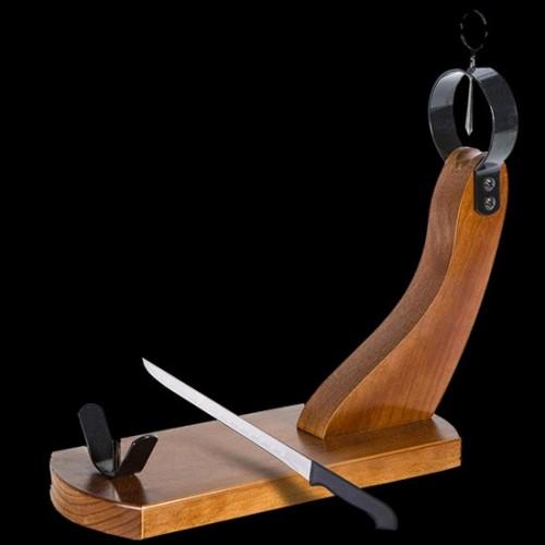 Ham Holder Stand + Knife