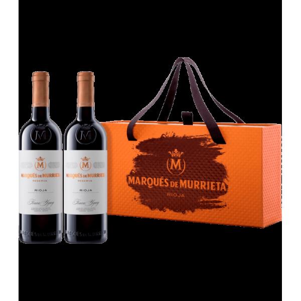 Red wine set Rioja Reserva