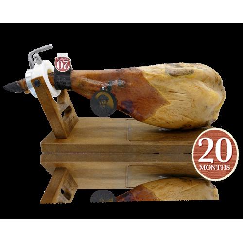 """7 Bellotas® """"Gran Reserva"""" Schouderham van eikel-varkens (BELLOTA) 5 Kg."""