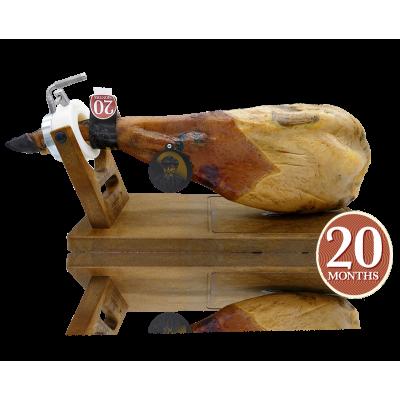 """7 Bellotas® Acorn-fed Iberian SHOULDER Ham """"Gran Reserva"""" + 5,0 Kg."""