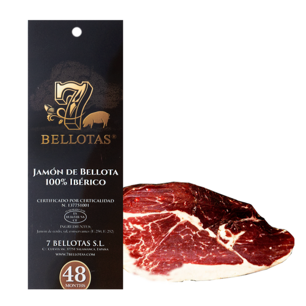 Sliced Ibérico Shoulder Ham 11X80gr.