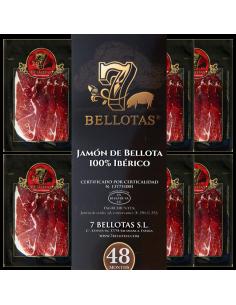 Jambon de bellota coupées à la Main