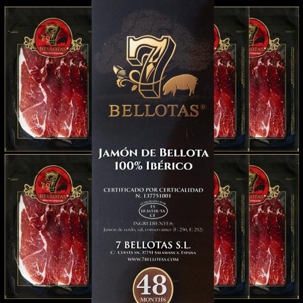 """48 个月。珍藏级""""伊比利亚火腿 (Sliced Iberico Bellota) Pack 5X80gr."""