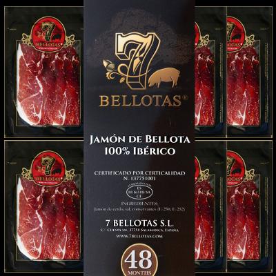 "7 Bellotas® ""Gran Reserva"" Hand Sliced Ibérico Bellota Pack 5X80gr."