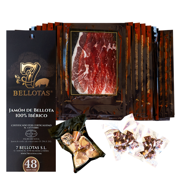 Sliced 7 Bellotas shoulder ham