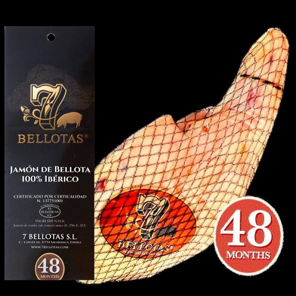 "Иберийская вяленая корейка ""Lomo Bellota"" Pack 5X80gr."