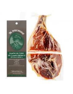 sliced bellota ham