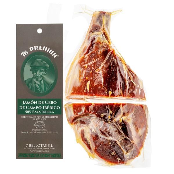 Hand Cut Bellota Ham, sliced bellota ham