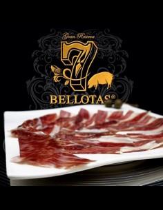 6X80gr. Jambon de Pata Negra & Échine Bellota en Tranches + Rioja 2X75cl.