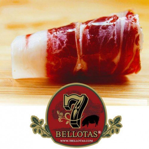 Iberian Ham (Jamon iberico) + Rotary Ham holder + Zwilling Knife + Bellota Sausages