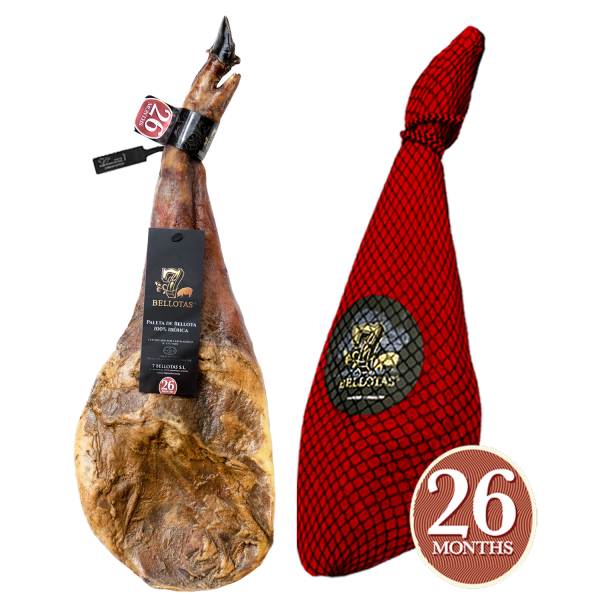 "Iberian Ham ""Campo Ibérico"" (15,5 LBS) + Rioja Reserva 2X75ccl"