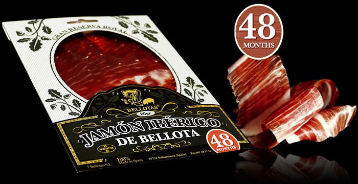 buy iberico ham sliced blister