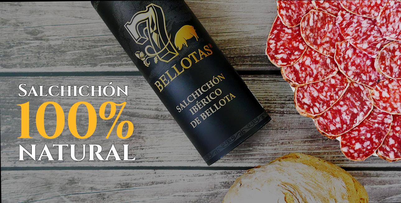 salchichón ibérico de bellota 7 Bellotas